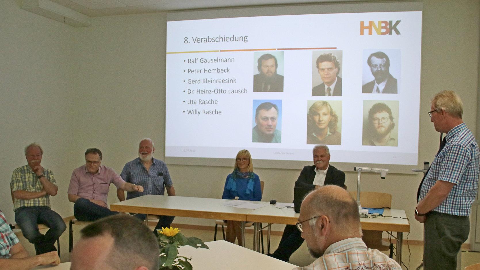 HNBK verabschiedet langjährige Kollegen